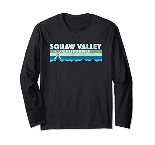 Squaw Valley Snow Ski Shirt / Retro Vintage CA Shirt