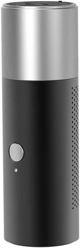 ZBHW Mini Altavoz Bluetooth Multifunción Linterna inalámbrica Llamada Metal Pequeño Altavoz Tarjeta Exterior portátil Subwoofer a Prueba de Agua (Color : Negro)