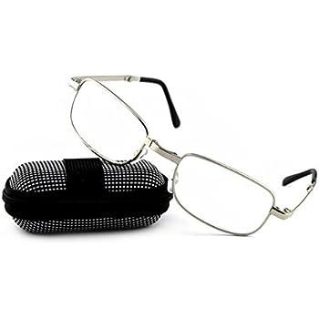 Amazon.com: ForHe - Gafas de lectura plegables unisex con ...