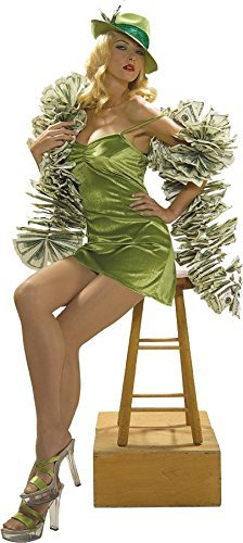 Vegas Girl Costume (Money Boa Costume Accessory)