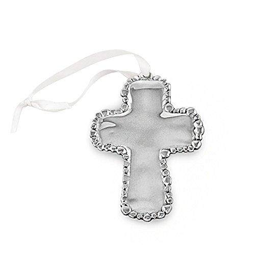 Cross Pearl Ornament (Beatriz Ball Gifts of Faith Organic Pearl Cross Ornament)