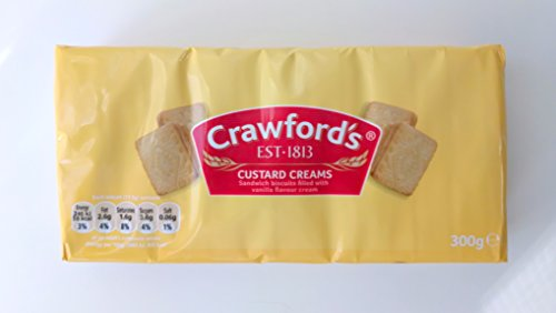 - Crawford's Custard Creams 300g (Pack of 3)