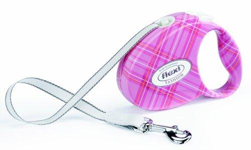 Flexi FAP.206.PAR Fashion Ladies Pink Retractable Leash, Small
