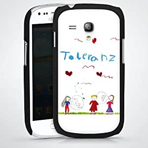 Carcasa Design Funda para Samsung Galaxy S3 Mini I8190 HardCase black - Fina, 4. Klasse