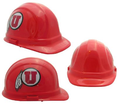WinCraft NCAA University of Utah Packaged Hard Hat 1