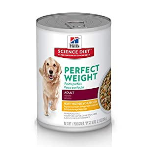 Hill's Science Diet Canned Dog Food, Adult, Perfect Weight Hearty Vegetable & Chicken Stew, 12.5 oz, 12-pack 11