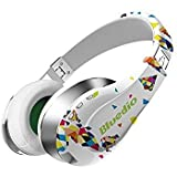 Bluedio A (Air) Fashionable Wireless Bluetooth Headphones with Microphone HD Diaphragm Twistable Headband 3D Surround Sound (White)