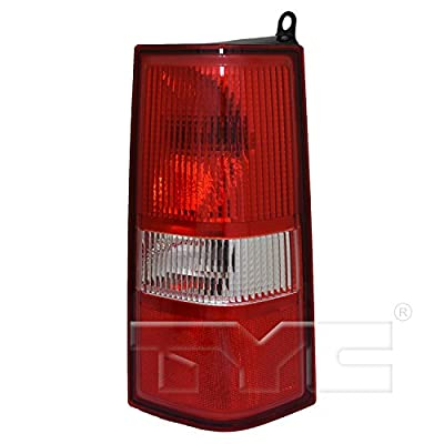 TYC 11-6837-00-1 Replacement right Tail Lamp: Automotive