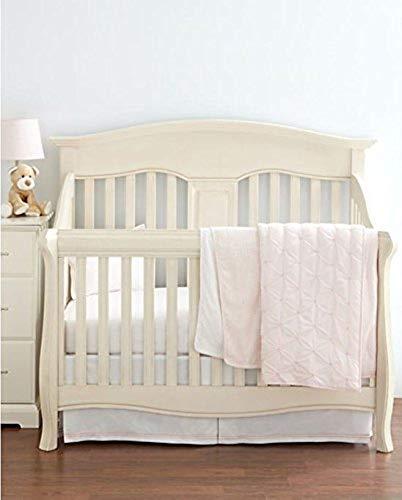(Hudson Park Collection Percale Baby Crib Skirt - Petal)