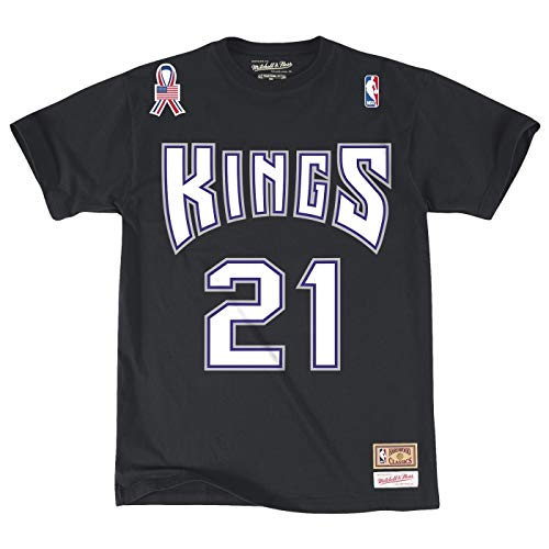 Mitchell & Ness Vlade Divac Sacramento Kings NBA Men's Player S/S T-Shirt
