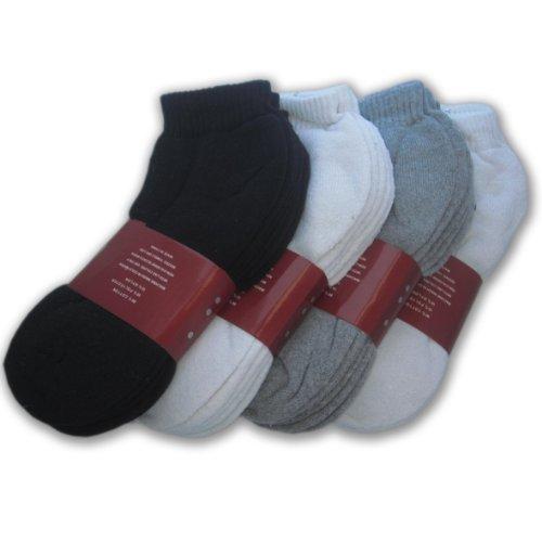 Wholesale-Lot-48-Pairs-Mens-Sport-Socks-AnkleQuarter-Crew-Athletic-Socks