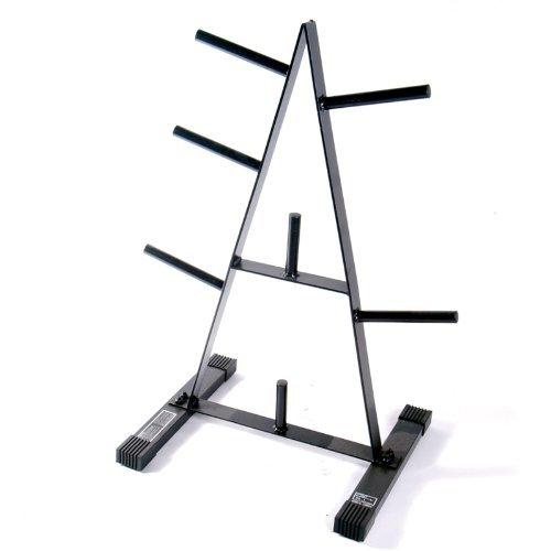 CAP Barbell 1-Inch Standard Plate Rack (Renewed)