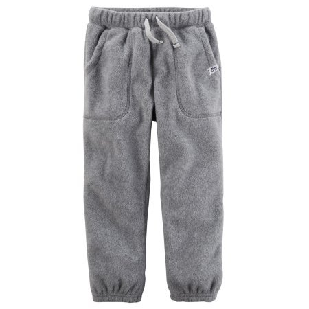Carters Fleece Sweatpant (Carter's Pull On Gray Fleece Joggers)