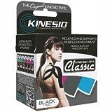 Kinesio174; Tex Classic Kinesiology Tape, 2'' x 4.4 yds, Black, 6 Rolls