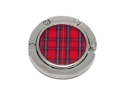 Bolso de resina cuadrados de tela escocesa rojo tartan Outlander regalos personalizados regalo de navidad amigos cumpleanos ceremonia de boda invitados boda senora dia de la madre pare