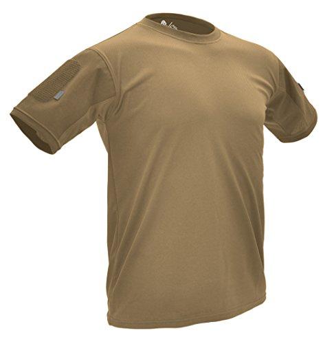 Hazard 4 Battle-T Under-vest Herren T-shirt Tan Größe L