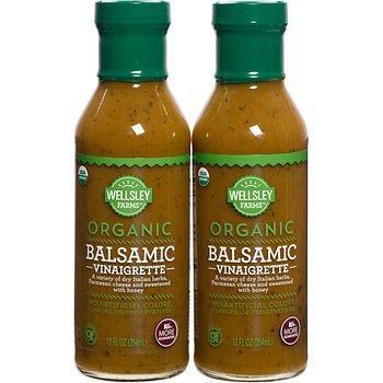 Wellsley Farms Organic Balsamic Dressing, 2 pk./12 oz. (pack of 2)