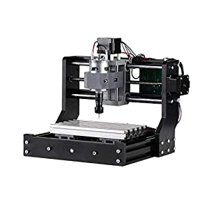 Genmitsu CNC 1810-PRO & 3018 & 3018-PRO Router Kit GRBL Control 3 Axis Plastic Acrylic PCB PVC Wood Carving Milling Engraving Machine, XYZ Working Area 300x180x45mm