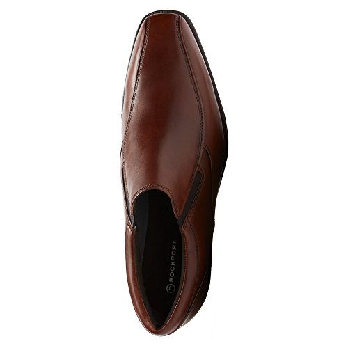 Rockport Mens Fairwood Fassler Slip-On Loafer- New Brown Leather