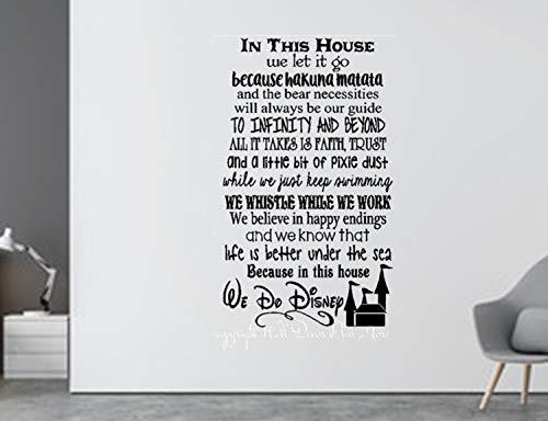 Disney Wall Decal - Walt Disney Quote Decal - Disney Movie Quotes Decal - Disney Wall Sticker - Disney Decor - Disney Decoration - Toy Story]()