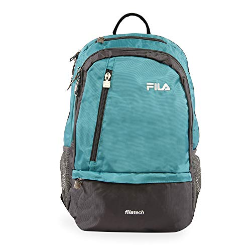 Fila Duel Tablet and Laptop Backpack, Teal
