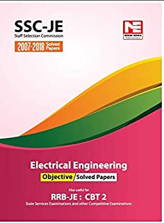 Electrical Engineering 5800 + MCQs Practice Book for SSC-JE
