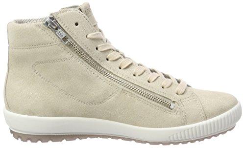 Legero Dames Tanaro Hoge Sneaker Beige (corda)