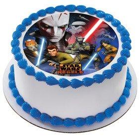 Amazoncom Star Wars Rebels Inquisitor Edible Icing Image Cake