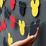 Mickey Mouse Garland - Paper Garland -Party