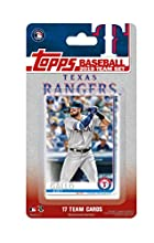 Texas Rangers 2019 Topps Factory Sealed Special Edition 17 Card Team Set with Elvis Andrus and Joey Gallo Plus