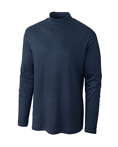 Cutter   Buck Mens Big Tall Brokers Bay Mock Neck  Aegean  4X Big