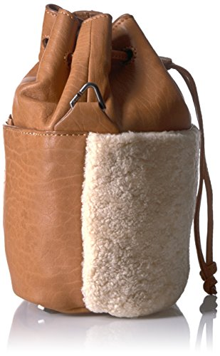 Lambskin Cognac Berlin Bucket Missisippi and Shearling Women's Bag Liebeskind XqZOw8