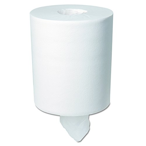 Georgia-Pacific GPC28124  Professional SofPull Center-Pull Perforated Paper Towels,7 4/5x15, White, 320 Per Roll (Case of 6 Rolls) (Dispenser Pull)