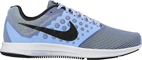 7 aluminum Running Donna Nike black Downshifter Scarpe Wmns white Blu qaw1E7pF