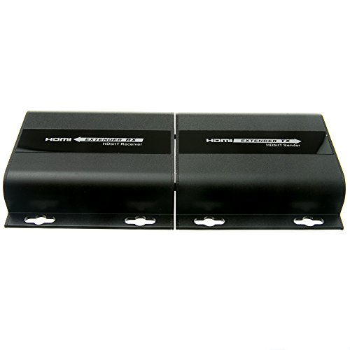 ACL HDMI Extender (394 Feet/120 Meter) over Local Network With IR return, Black, 10 Pack by ACL