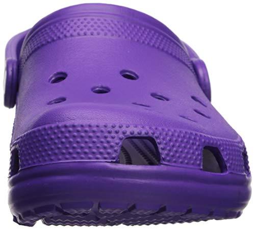 Crocs Classic Clog Adults, neon Purple 11 M US Women / 9 M US Men by Crocs (Image #4)