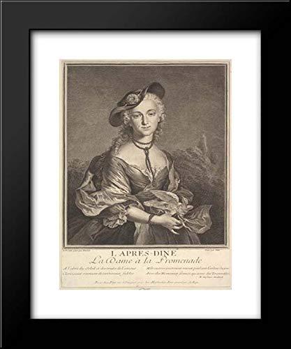 Gilles Edme Petit - Francois Boucher - 15x18 Framed Museum Art Print- After-Dinner