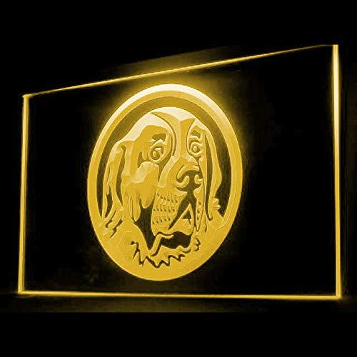 210046 Saint Bernard Dog Breeder Pet Affordable Display LED Light Sign