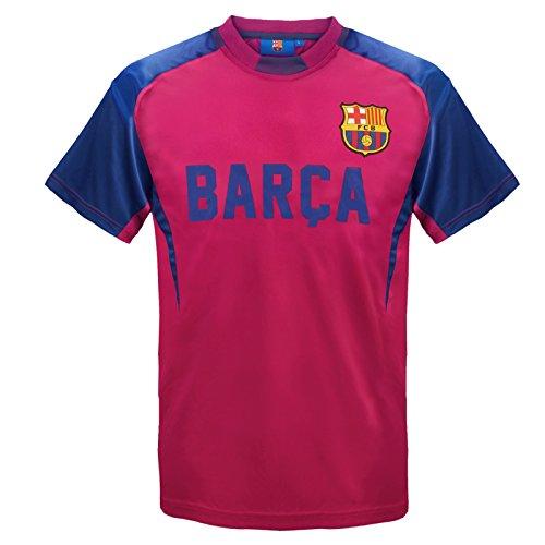 FC Barcelona – Camiseta oficial de entrenamiento – Para niño – Poliéster