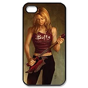 Buffy The Vampire Slayer Pattern Image Case Cover Hard Plastic Case Iphone 4s / Iphone for Iphone 4 4s