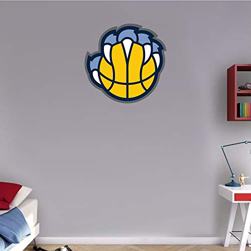 (skyhighprint - Memphis Grizzlies NBA Basketball Sport Logo Wall Decor Vinyl Print Sticker 22'' X 21'')