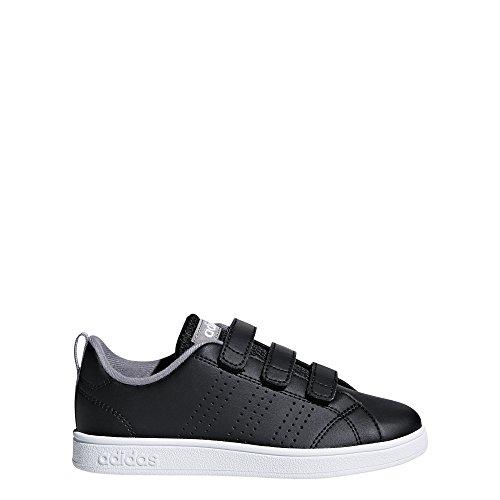 001 Advantage - adidas Kids' VS Advantage Clean, Core Black/Core Black/Grey Three, 5.5 M US Toddler