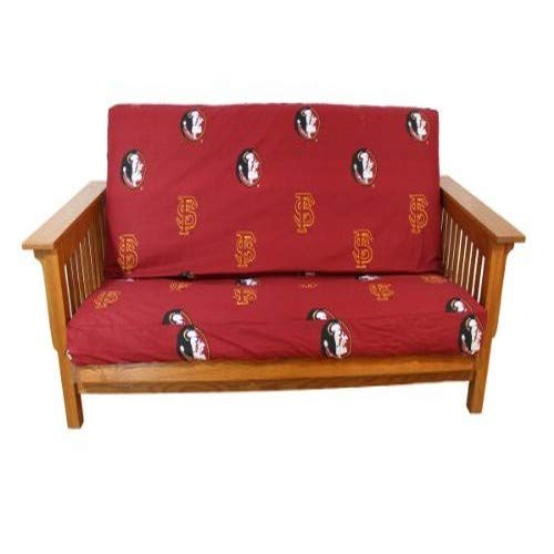College Covers Florida State Seminoles Futon Cover - Full Size fits 6 and 8 inch mats (Bright Cover Futon)