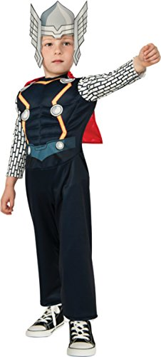 Thor Fancy Dress Costumes (Boys Thor Toddler Kids Child Fancy Dress Party Halloween Costume, Toddler (1-2))
