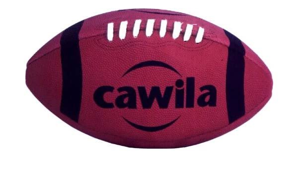 Cawila American Football - Balón de fútbol Americano, Color Rojo ...