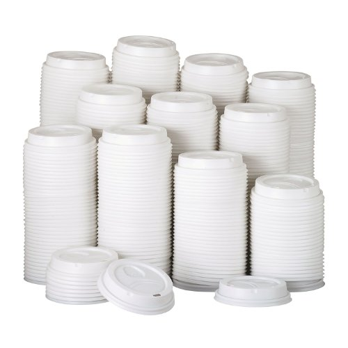 Dixie PerfecTouch Domed Hot Cup Plastic Lids, Fits 10-16 oz. (500 ct.) ()
