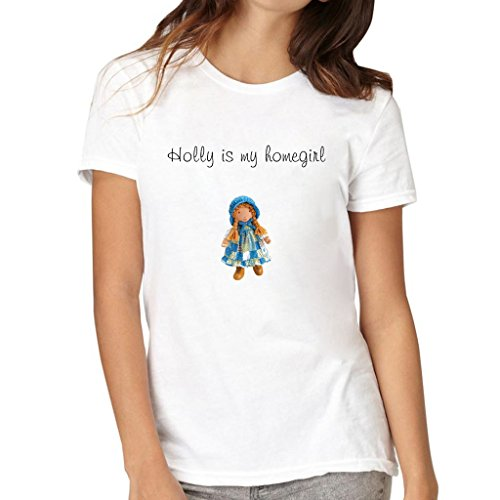old-map-women-holly-is-my-homegirl-t-shirts-white-size-x-large