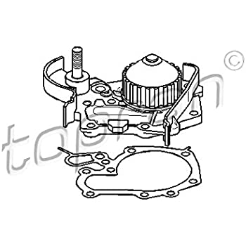 Amazon Com Water Pump Fits Dacia Logan Sandero Renault Clio Kangoo