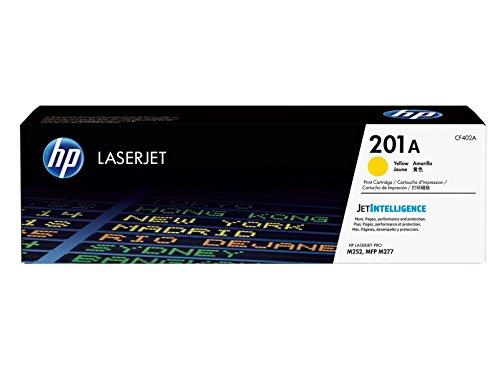 24 Color Print Cartridge - HP 201A (CF402A) Toner Cartridge, Yellow for HP Color LaserJet Pro M252dw, M277, M277c6, M277dw