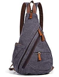 Sling Bag - Small Crossbody Backpack Shoulder Casual Daypack Multipurpose Rucksack for Men Women Outdoor Cycling Hiking Travel